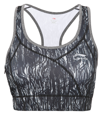 Li-Ning Summer Sport Bra Top Black Petrol