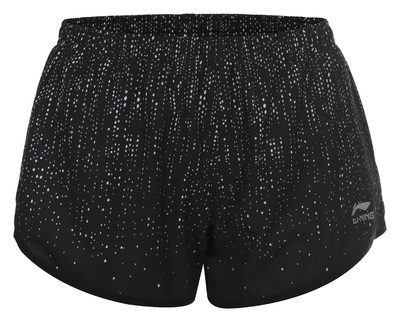 Li-Ning Stacy short print black grey