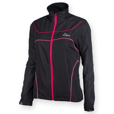 Rogelli Runningjacket Madu Black Red Pink Dames