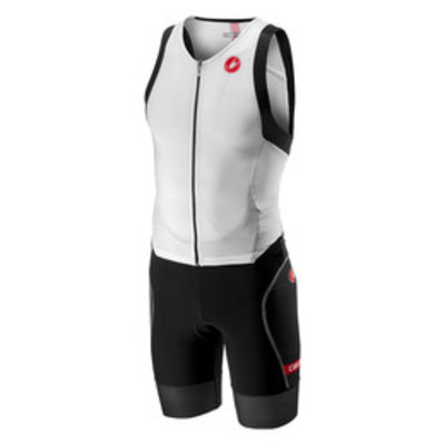 Castelli Free Sanremo Tri Suit Sleeveless Men white