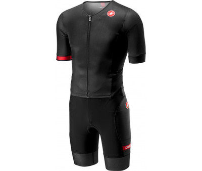 Castelli Free Sanremo Tri Suit SS Black Men