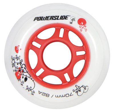 Powerslide wheel 72mm 82a