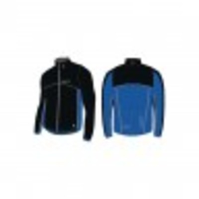 Craft Thermo Jack windstopper zwart/cobalt