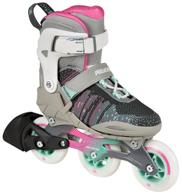 Powerslide Phuzion Kids Skate Adjustable White
