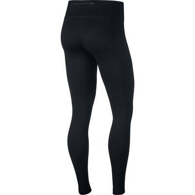 Nike Power Essential running tights black - swoosh pink