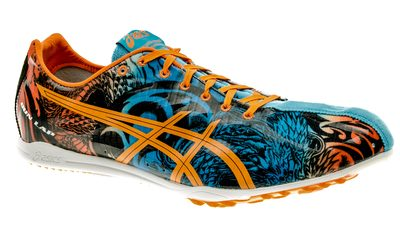 Asics Gun Lap LD Spikes blue-dragon heren