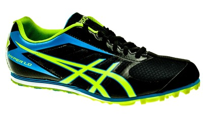 Asics Hyper LD 5 black/lime/blue