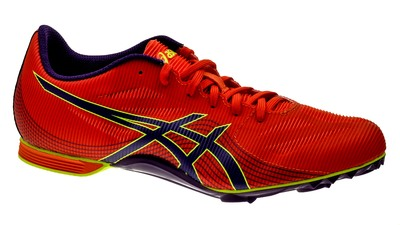 Asics Hyper Rocketgirl 7 orange/dark-purple/flash-yellow