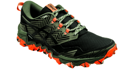 Asics FujiTrabuco 8 mantle green/black