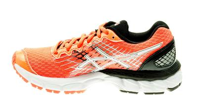 Asics Nimbus 17 GS Kids hot-orange/ black/black