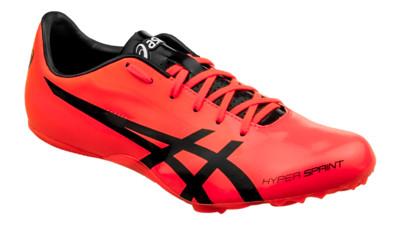 Asics Hypersprint 7 Sunrise Red/Black [unisex]