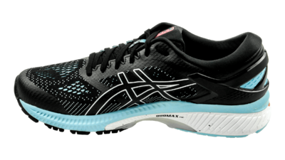 Asics Kayano 26 black/heritage blue