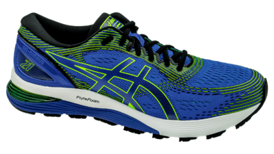 Asics Nimbus 21 illusion blue/black