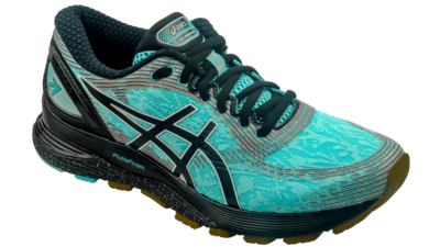 Asics Nimbus 21 Winterized ice mint/black