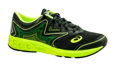 Asics Noosa GS black/safety yellow/green gecko [kids]