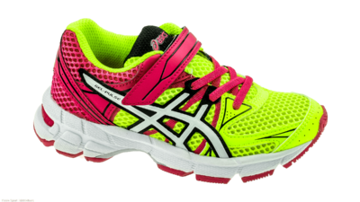 Asics PS Pulse 6 Flash yellow/white/hot pink