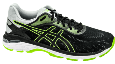 Asics Pursue 5 black/hazard green