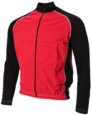Avento Sportsjacket windbreaker black/red