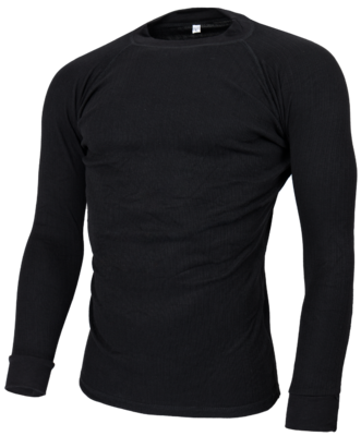 Avento Thermoshirt Men Black (long sleeve) 723