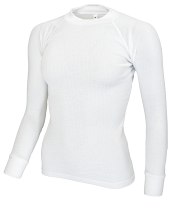 Avento Thermoshirt  Dames Wit (lange mouw) 721