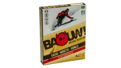 Baouw! 4-pack barre 30g [cacao-noisette-vanille]
