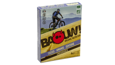 Baouw! 4-pack barre 30g [cassis-amande-gentiane]