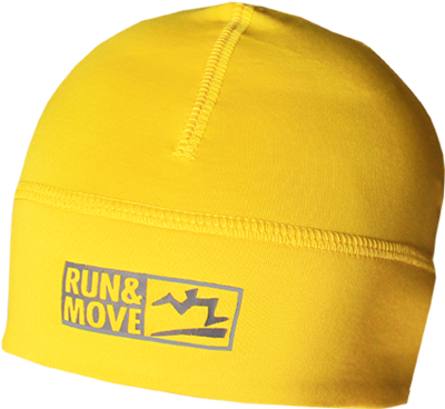 Run en Move Function Cap yellow
