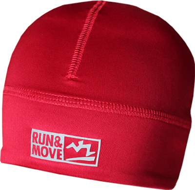 Run en Move Muts rood
