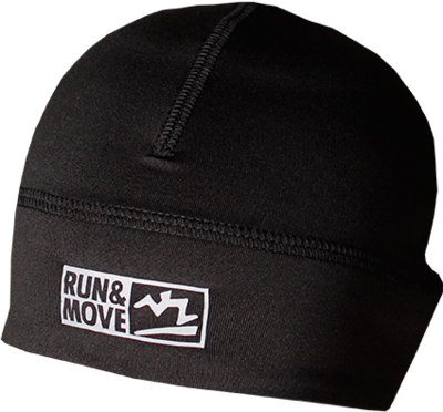 Run en Move Muts zwart