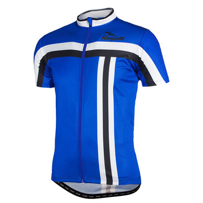 Rogelli bike shirt short sleeve Brescia blue