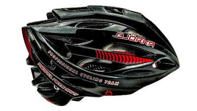 Bjorka Route DS 5 black/red/gloss