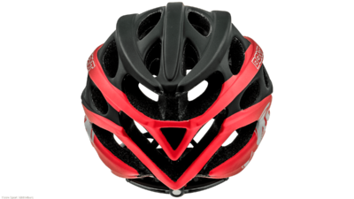 Bont Inline skate helmet matt black/red