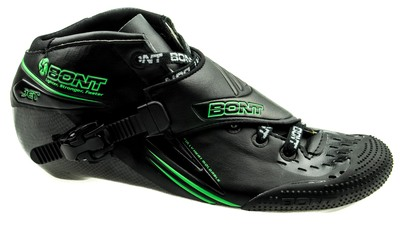 Bont Jet black/green
