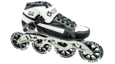 Bont Pursuit Skate Black/White 4x100