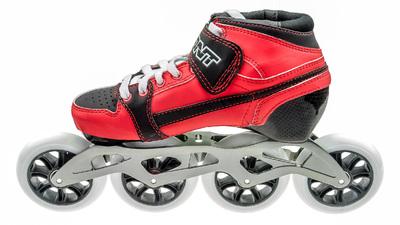 BontPursuit Skate Rood/Zwart 4x100mm