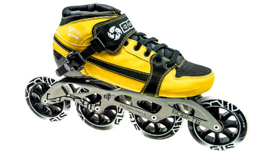 0bdf668e8c60d3 Pursuit Skate yellow/black 4x100mm