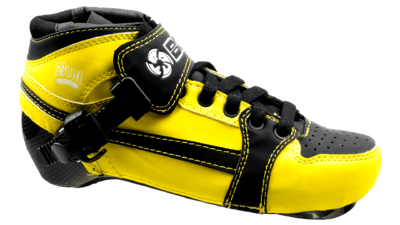 Bont Pursuit Boot yellow/black