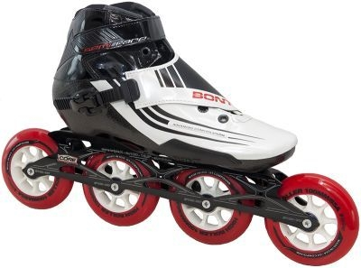 Bont Semi Race Met Powerslide 3X Core Frame 100mm