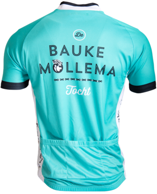 Zaes Bauke Mollema wielershirt / mintgroen