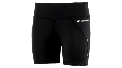 Brooks Women's Infinity tight II short [black]