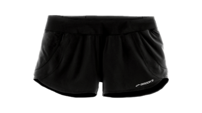 "Brooks Women's Chaser 3"" short [black]"