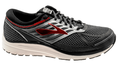 Brooks Addiction 13 narrow  ebony/black/red