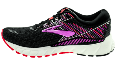 Brooks Adrenaline GTS 19 black/purple/coral