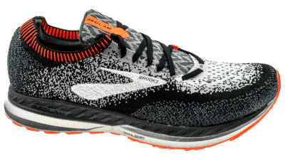 Brooks Bedlam black/grey/orange