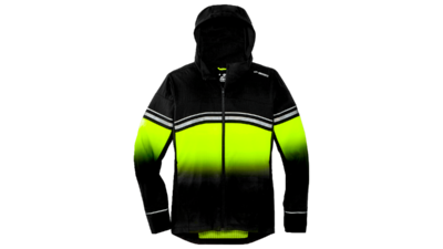 Brooks Men's Canopy jacket reflective [nightlife/black]