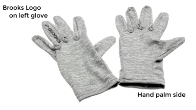 Brooks Unisex Dash gloves [Heather Oxford]