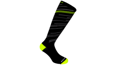 Unisex Fanatic Compression socks [black/nightlife]