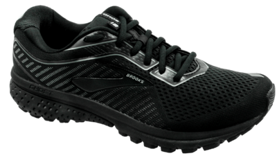 Brooks Ghost 12 black/grey [WIDE]