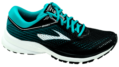 Brooks Launch 5 black/teal green/white