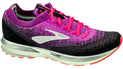 Brooks Levitate 2 purple/fiery coral/black